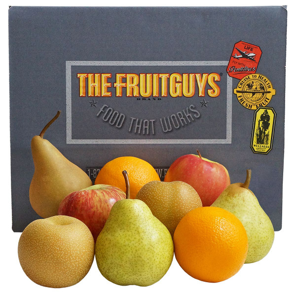 9 Piece Fresh Fruit Box-large